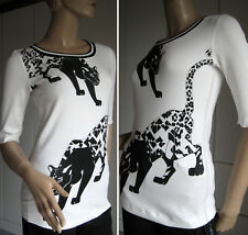 NEU MARCCAIN Shirt N3 Gr 38 T-Shirt Damenshirt Pulli Panther Marc Cain