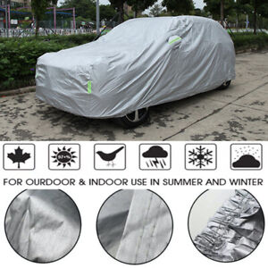 16ft Suv Full Car Cover Protection Resistant Outdoor Waterproof Rain Dust Snow