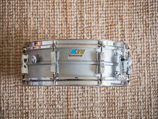 "Snare Ludwig Acrolite 14x5"" with stand and case."