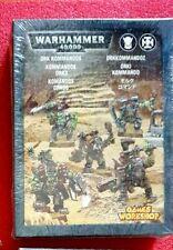 ORK KOMMANDOS - NEW IN SEALED BOX ORKS ELITE COMMANDOS NOBZ KOMMANDO OOP RARE!!!