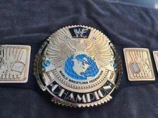 WWF Attitude Era Scratch Logo BIG EAGLE World Heavyweight Champion Replica Belt