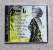 "CD AUDIO MUSIQUE / PEGGY LEE ""THE BEST OF PEGGY LEE"" 15T CD COMPILATION  NEUF"