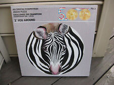 """Vintage """"Z"""" You Around (ZEBRA) - """"An Official Competition"""" 500 Pc Jigsaw Puzzle"""