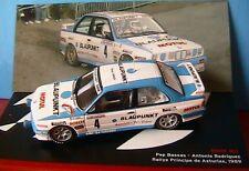 BMW M3 #4 BASSAS RODRIGUEZ RALLYE PRINCIPE DE ASTURIAS 1989 1/43 IXO ALTAYA E30