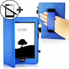 Custodie e copritastiera blu per tablet ed eBook Kindle Paperwhite