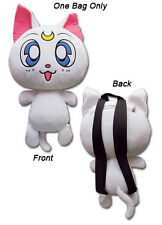 **Legit Bag** Sailor Moon White Guardian Cat Artemis Plush Bag Backpack #84599
