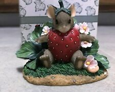 """Fitz and Floyd Charming Tails """"You're Berry Special"""" Limited Edition"""