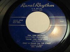 BILL CARTER on Rural Rhythm Bluegrass Gospel Country c