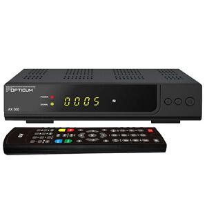RUSSISCHE TV Deutsch Sat-Receiver Opticum HD X-300 programmierte Senderliste