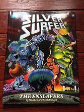 Silver Surfer The Enslavers 1990 hardcover Stan Lee Keith Pollard