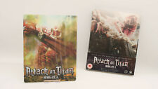 Attack On Titan 1 I HMV Exclusive Bluray Steelbook + 3D Lenticular Magnet Cover