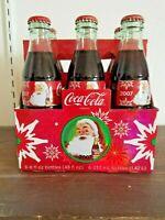 Coca Cola Christmas 2007 Bottles 8 oz 6 Pack Carton- sealed