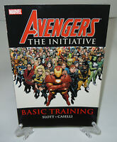 Avengers The Initiative Basic Training Vol. 1 Marvel TPB Trade Paperback New