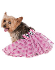 Barbie Girl Pink Pet Dog Cat Ballet Costume Tutu
