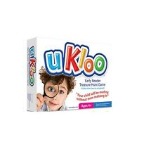 UKloo Early Literacy Treasure Hunt Visual Word Recognition Sentence Structure