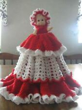 Collectable Doll with homemade crochet dress & hat