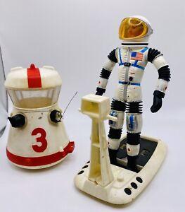 1966 Mattel MAJOR MATT MASON Figure w/ Helmet Very Nice -UNBROKEN!! EXTRAS
