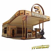 TTCombat - City Scenics - DCS045 - Dinogas Filling Station Deluxe
