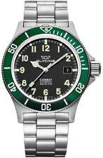 Glycine GL0253 Men's Combat Sub 42mm Automatic Black Dial Watch