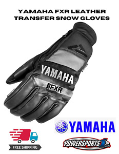 YAMAHA FXR WINTER SNOWMOBILE LEATHER TRANSFER GLOVES SIZE SMALL 180-81014-00-07