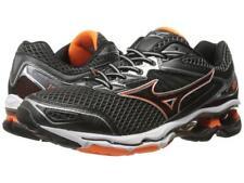 New Men's Mizuno Wave Creation 18 Running Shoes Size 9 Black/Orange J1GC160109