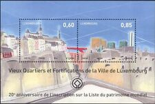 Luxembourg 2014 UNESCO/Heritage Site/Old City Walls/Buildings 2v m/s (lu10145d)