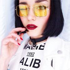 Retro Vintage Square Fashion Sunglasses Women Trendy Eyeglasses Steampunk Shades