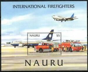 Nauru Stamp - International Fire Fighters Stamp - NH