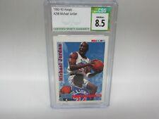 1992-93 Hoops Michael Jordan #298 CSG 8.5 NM/MT+