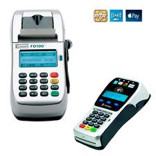 First Data Fd100Ti Dial/Ip Terminal W/Fd35 Pin Pad Accept Emv Apple Pay