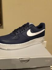 4cc108eb175 New Nike Air Force 1  07 Low Mens Shoes Size 9 Blue Recall White AA4083