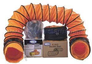 PVC flexible ducting industrial portable ventilator extractor hose heavy duty