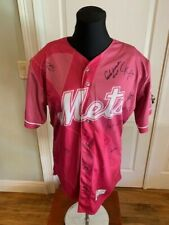 St.Lucie METS Breast Cancer Awareness For the Cure Pink Jersey 2019 Team Signed