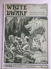 The White Dwarf Magazine Issue #3 Games Workshop Citadel Miniatures 1977  Rare