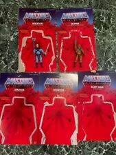 """Masters Of The Universe Giant MOTU He Man Classics Mattel 12"""" Inch Cards LOT"""