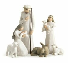 Willow Tree Nativity_sculpted hand-painted nativity figures, 6-piece set- #26005