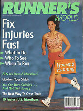 VINTAGE RUNNERS - RUNNER'S WORLD MAGAZINE US EDITION FEBRUARY 1998