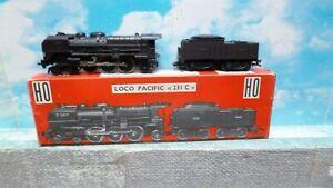 Jouef : loco vapeur 231 Sncf  Pacific + boite ech ho