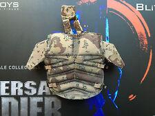 DAMTOYS BLITZWAY Universal soldat luc deveraux body armour loose échelle 1/6th