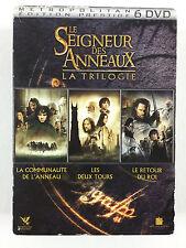 Coffret Lot 6 DVD Le Seigneur Des Anneaux La Trilogie / L'INTEGRALE