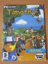 JEUX VIDEO TIMOTHY PC CD-ROM WINDOWS