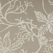 """Clarke and Clarke Coral Surf Curtain Upholstery Craft Fabric 137cm/54"""" wide"""