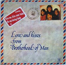 Philatélie 33 tours Brotherhood of man Love and kisses