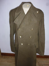 ROYAL ARTILERY MENS OLIVE GREEN GREATCOAT SIZE 188/108CM BRITISH ARMY ISSUE