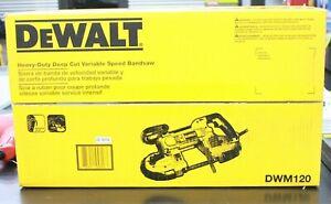 Dewalt DWM120 Heavy Duty Deep Cut Variable Speed Band Saw NEW!