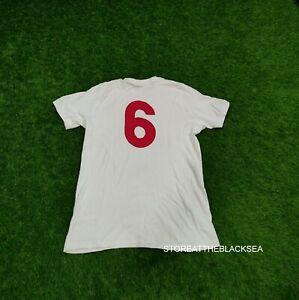 ENGLAND NATIONAL TEAM RETRO #6 FOOTBALL SHIRT JERSEY TRIKOT UMBRO MEN L