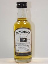Islay whisky bowmore 12 years 5 cl 40% mini botella Miniature Bottle