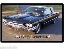 1965 Ford Thunderbird Auto Refrigerator / Tool Box Magnet Gift Item