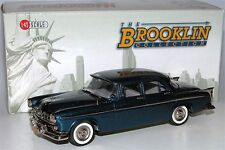 BROOKLIN MODELS BRK 165 1955 CHRYSLER WINDSOR 4-Door Sedan, Blue, 1/43