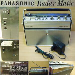 PANASONIC RF-880 RADAR MATIC